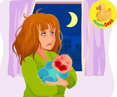 Ora albastra, ora lacrimilor, ora vrajilor. Ora cand bebelusul nu se linisteste - iata ce e bine sa faci, draga mami.