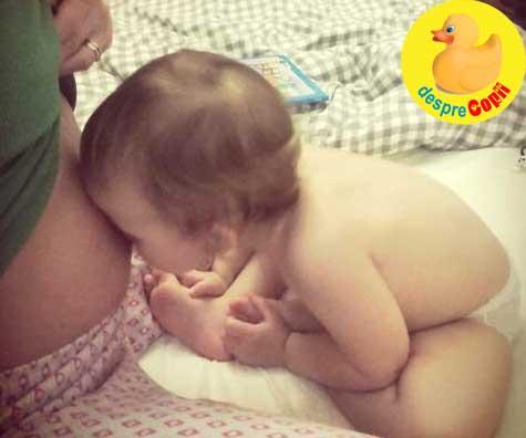 Fetele noastre se inteleg de pe acum - jurnal de sarcina