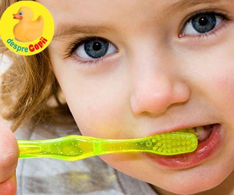 Necesarul de fluoruri ale copilului
