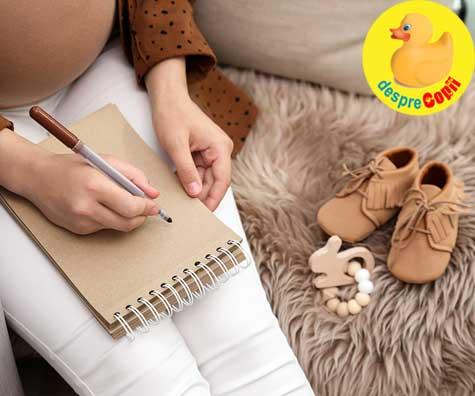 Ganduri, intrebari,frici si framantari de gravida - jurnal de sarcina