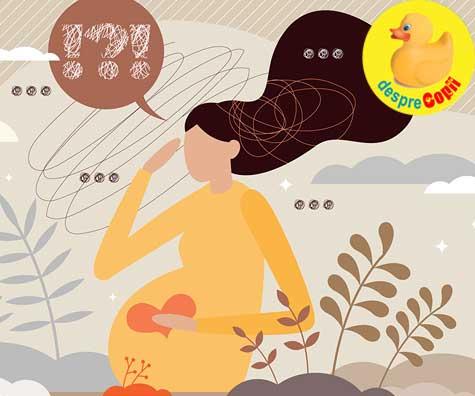 Frica la a doua sarcina - jurnal de sarcina