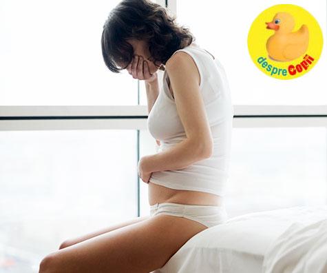 Cea mai mare frica in timpul sarcinii: avortul spontan