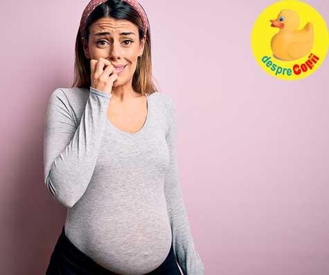 Cu epidurala sau fara? Intre bucuria nasterii si durere - jurnal de sarcina
