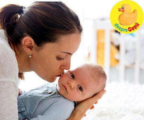 Bucuriile si provocarile unei mame la inceput de drum