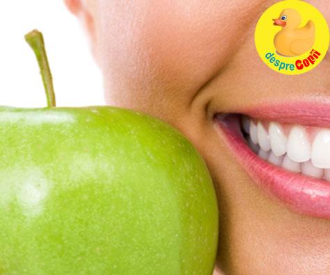 Fructele ne strica dintii? Iata ce spun specialistii