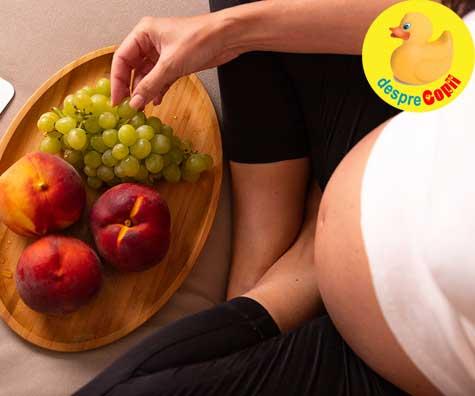 Cele mai bune fructe pentru femeile insarcinate - pline de vitamine, folati si fibre