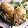 Sandwich cu ton si ananas