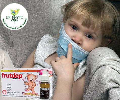 FRUTDEP IMMUNO - previne si trateaza infectiile respiratorii