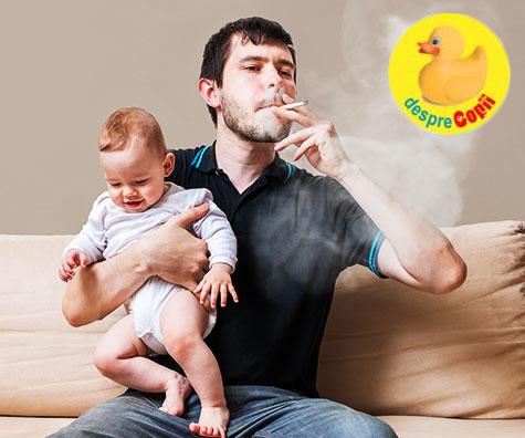 Fumatul pasiv dauneaza arterelor copiilor