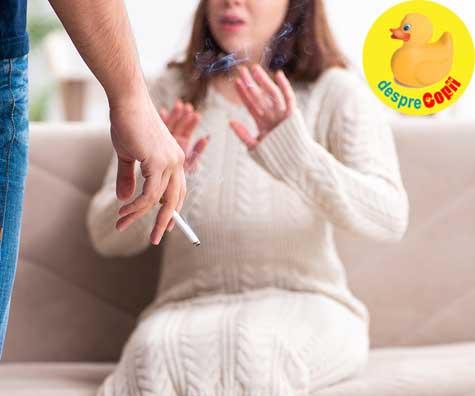 Tigarile - semnal de alarma pentru gravide - jurnal de sarcina