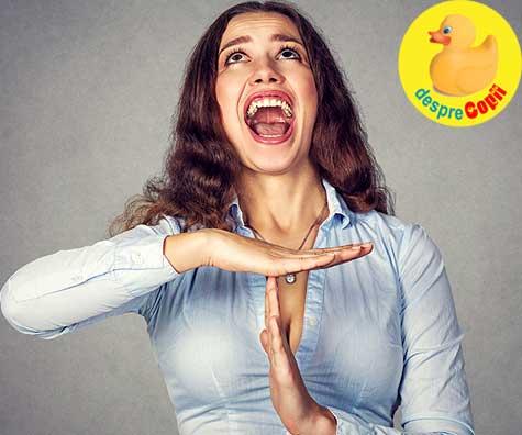 Meseria de mama este dificila - dar ce facem cand furia preia controlul? Despre nevoia de parenting calm.
