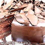 Tortul de ciocolata Ganache