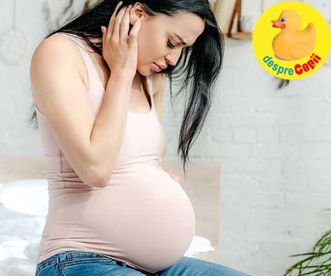 Ganduri si nelinisti despre nastere - jurnal de sarcina