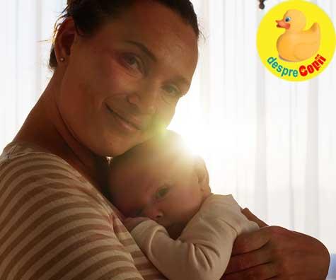 Ce am descoperit de cand sunt mamica: ganduri postpartum