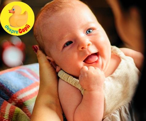 Cand incepe bebelusul sa gangureasca: cand si cum progreseaza