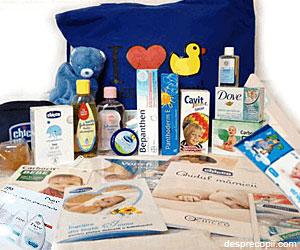 Geanta Bebelusului: Un cadou superb plin cu produse utile