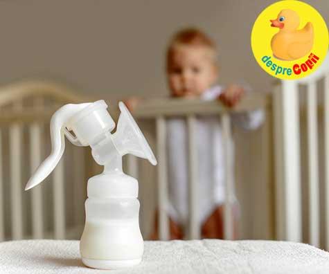 Laptele matern - ce anume afecteaza cantitatea de grasimi sau calorii ai compozitiei sale?