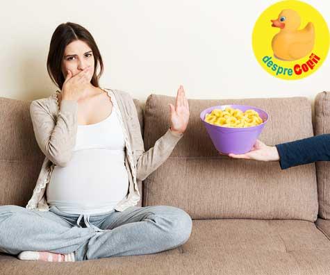 Nu toate gravidele au pofte - jurnal de sarcina