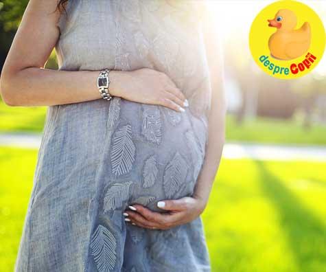 De ce nu este placut sa fii insarcinata pe canicula - jurnal de sarcina