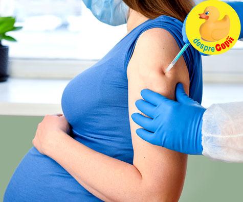 CDC recomanda femeilor insarcinate sa faca vaccinul anti Covid-19