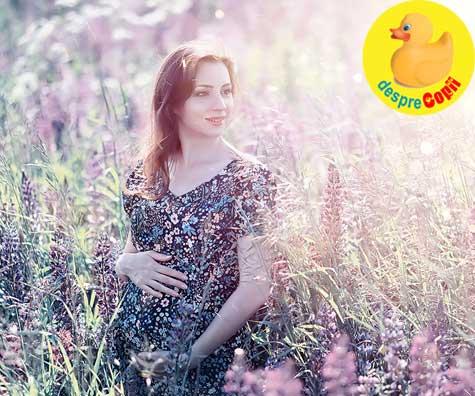 Am o sarcina usoara fara simptome chinuitoare - jurnal de sarcina