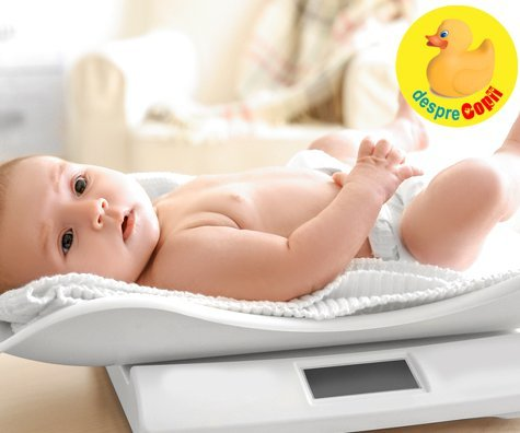 Cat ia bebelusul in greutate in primul an