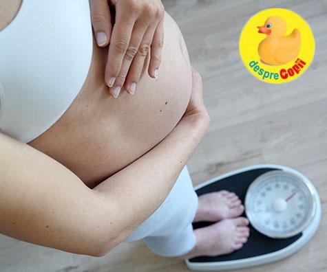 Multe femei castiga prea multe kilograme in timpul sarcinii