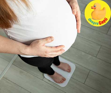 Cate kilograme ar trebui sa iei in greutate atunci cand esti gravida: iata DIAGRAMA kilogramelor sanatoase in sarcina