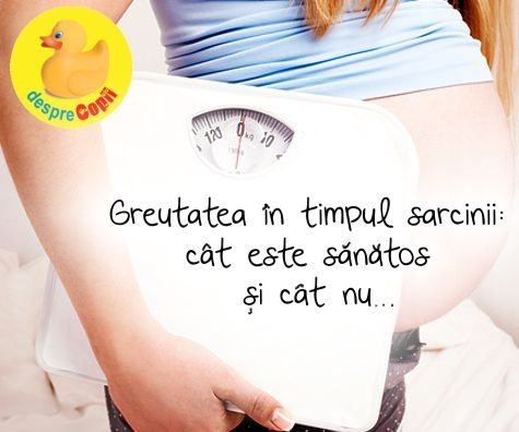 Greutatea in timpul sarcinii: cat este sanatos si cat nu