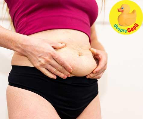 Ai nascut de curand si inca nu scapi de kilogramele in plus? Iata 5 motive.