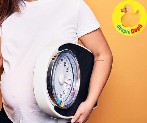 Greutatea este inamicul principal al gravidelor - jurnal de sarcina