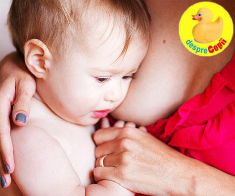 Greva suptului bebelusului: cauze si gestionare