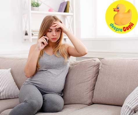 Nelipsitele griji din timpul sarcinii - jurnal de sarcina