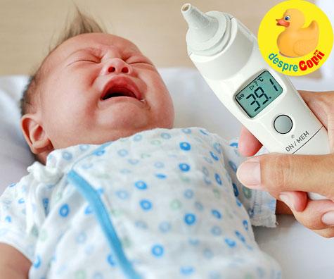 Ce facem daca bebelusul a fost expus la gripa? - sfatul medicului