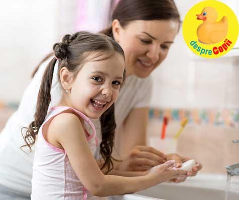 Gripa la copii se poate preveni cu aceste 8 metode
