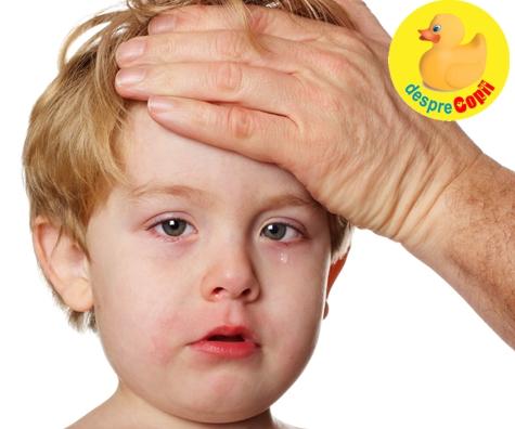 Gripa sau raceala la copil - ghidul simptomelor