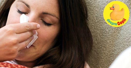 Gripa in timpul sarcinii si riscul autismului la copil