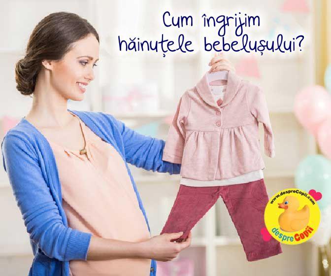 Cum spalam si calcam hainele bebelusului? Ce detergent folosim?