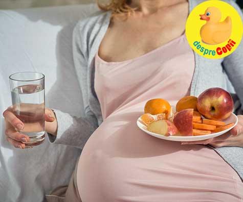 Esti insarcinata? Iata cum sa ramai hidratata si ce rol au lichidele pentru sanatatea ta si a bebelusului.