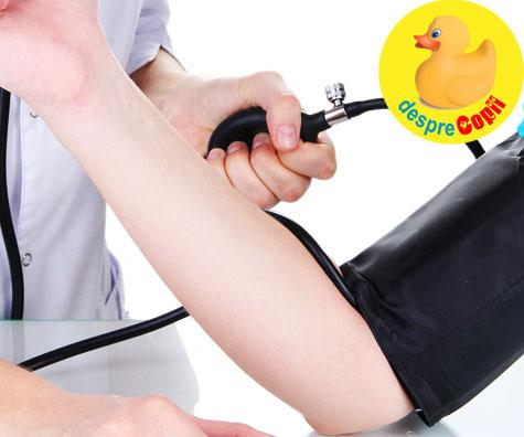 Hipertensiunea in timpul sarcinii - sfatul medicului