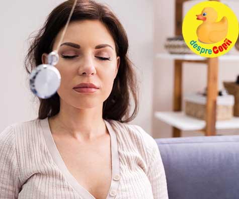 Fac hipnoterapie pentru o nastere usoara: despre karma si destinul bebelusului - jurnal de sarcina