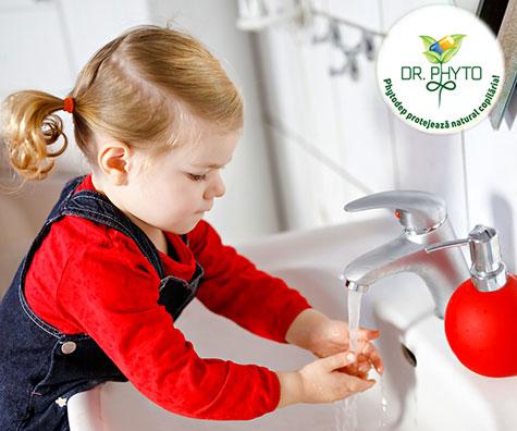 Igiena copilului in vacanta
