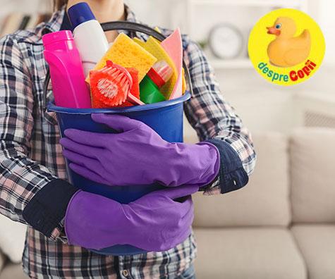 Punctele riscante de igiena ale casei - sau situatiile si locurile care ne pot afecta serios sanatatea