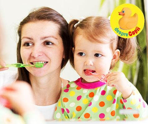 Igiena orala la copii si importanta produselor folosite