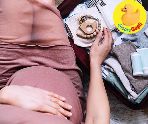 Saptamana 35: il astept pe bebe cu toate pregatite - jurnal de sarcina