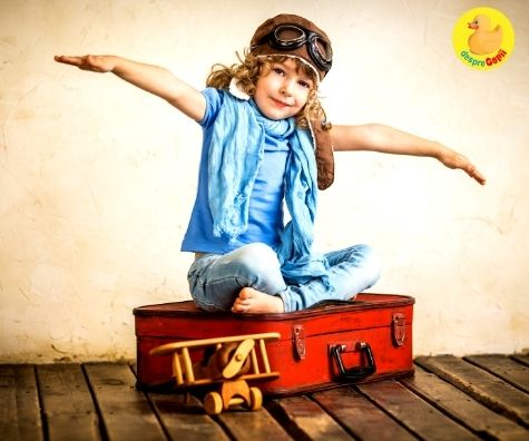 Da aripi copilului tau incurajand curiozitatea sa nativa si increderea in visele lui: 5 sfaturi utile