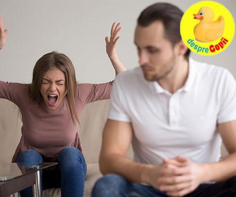 Cum sa nu iti urasti sotul dupa ce ai copii