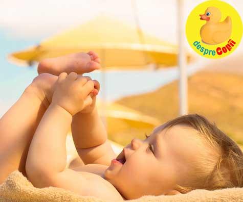 Importanta vitaminei D3 la bebelusi si sugari - supervitamina bebelusilor