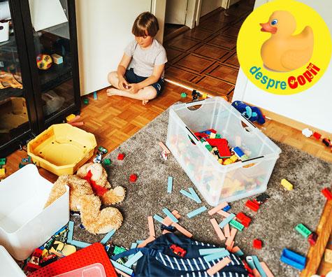 Suntem in carantina alaturi de copii si asa arata in casa