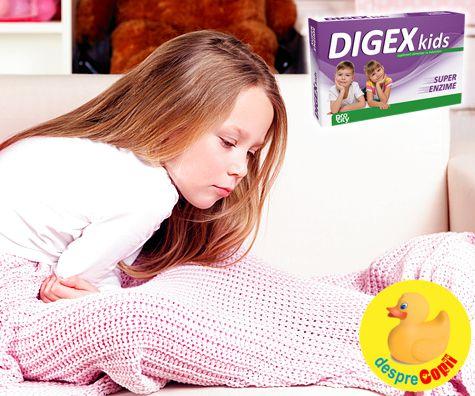 Indigestia copilului: cum se manifesta si ce e de facut